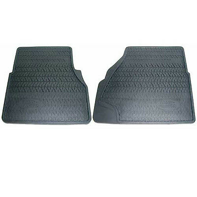 Genuine Land Rover Defender 300TDi - Front Rubber Mat Set - RTC8098AB