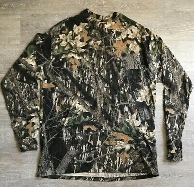953f0a8a4e631 Mens Size Large Red Head Brand Co Mossy Oak Camo Long Sleeve Shirt Pre  Owned XL