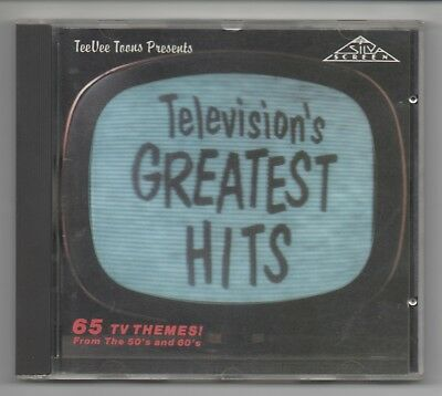 Televisions Greatest Hits From The 50's & 60's (65 Themes)