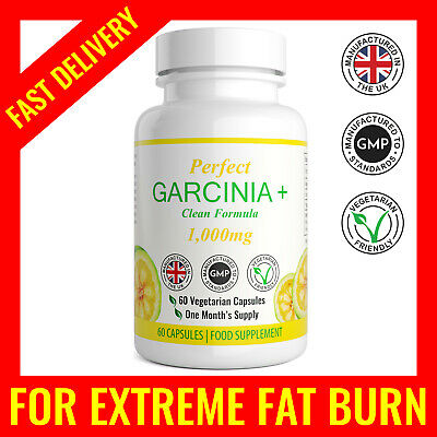 Fat Burners Capsules Garcinia Cambogia X60 Very Strong Keto Diet Pills T5 Legal