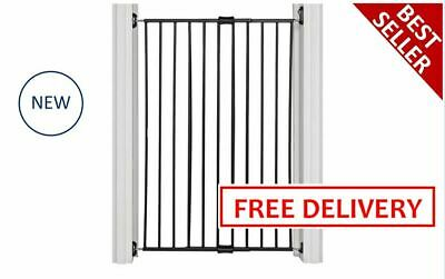 New Tall Safety Metal Gate 110Cm Hight Suitable For Medium To Large Dog STRONG