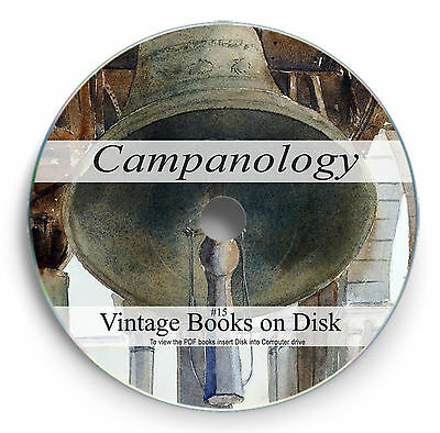 Campanology Bell Ringing Rare Books on DVD Hand Change Church Tuning Carillon 15