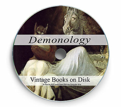 Rare Books on DVD - Demonology Occult Demon Devil Lore Witchcraft Worship 248