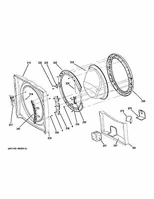 New Front Load Ge Washer Tub Bearing And Seal Kit Fits Tank
