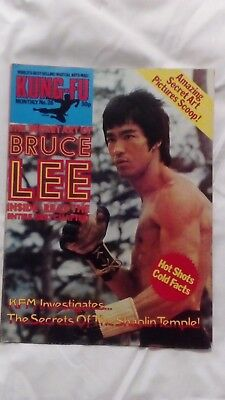 Bruce Lee Kung Fu Monthly 26 Never Been On The Wall