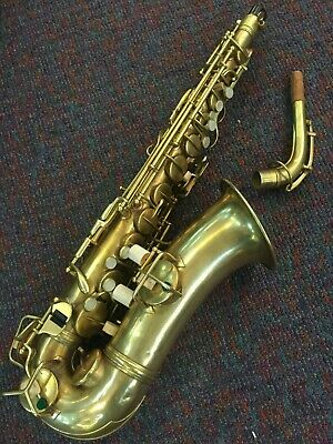 Conn Chu Berry Alto Saxophone-Made c.1929-Serviced-Ready to Play-Rich Tone!