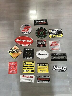 Snap On Sticker Pack NEW