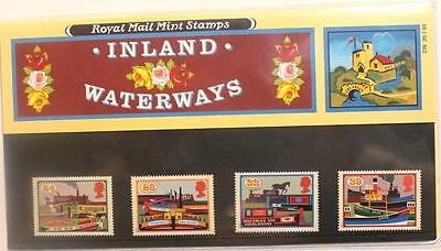 Inland Waterways Royal M presentation pack stamps no 239 issued 20 July 93 mint
