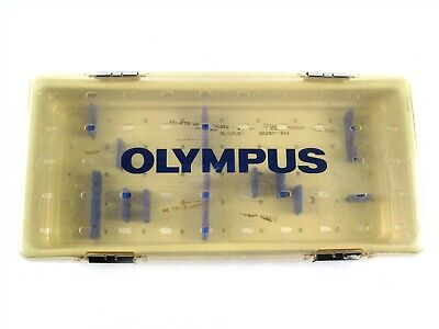 Olympus A5976 Autoclavable Sterilization Tray Surgical Instruments WA05974A