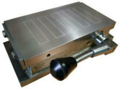 """Magnetic Chuck Permanent Magnet Work Holding For Grinding Machining New 4"""" x 8"""""""
