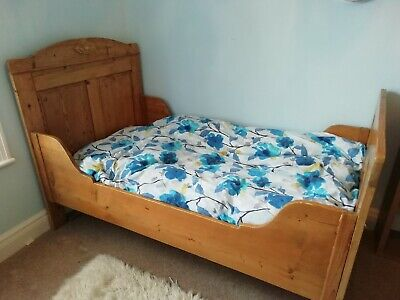 Vintage French Wooden Bed