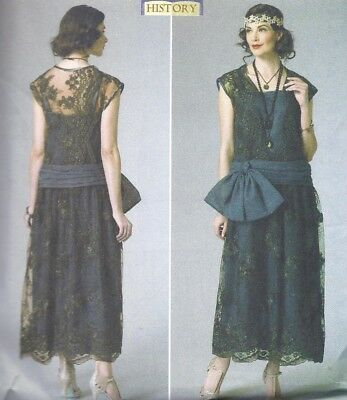 VINTAGE-STYLE 20S FLAPPER Tops McCalls Sewing Pattern Plus Size 14 ...