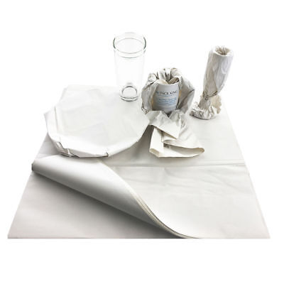 """Medium 18 x 24"""" White Packing Paper Chip Shop Paper Newspaper Sheets Offcuts"""
