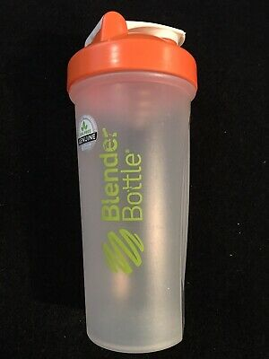 Genuine Blender Bottle Special Edition 28 oz. Shaker - Orange - BPA Free