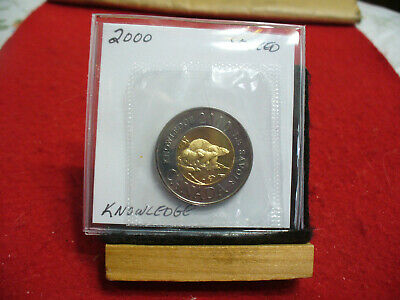 2000  Canada 2$ Two  Dollar  Coin  Toonie  See Photos   00  Proof Like  Sealed