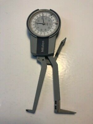"""Mitutoyo #209-761 2.2-3.2"""" Dial Caliper Gage - In Great Condition!"""