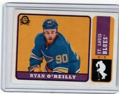 2018-19 O Pee Chee Retro Update Card # 606 Ryan O'Reilly St Louis Blues 1:60