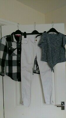 Girls Outfit Tops,Jeans Denim Co, YD 9-10 Years