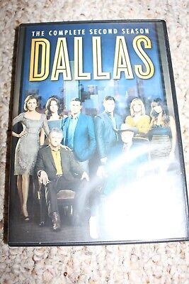 Dallas: The Complete Second Season (DVD, 2014, 4-Disc Set) 2nd 2