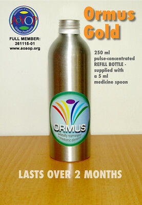 NEW: Pulse-Concentrated Ormus Gold — 250 ml REFILL BOTTLE