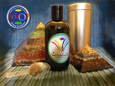 PULSE-CONCENTRATED ORMUS GOLD — 250 ml bottle with full protection pack