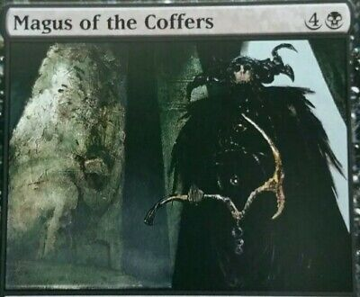 Magus of the Coffers Singles MTG (Choice of Planar Chaos or C14) Rare Magic Card
