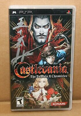 no Game Castlevania The Dracula X Chronicles Sony Psp Able Replacement Case