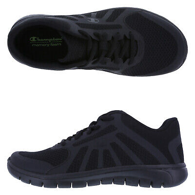 1c4a4a51e Champion Women s Gusto Runner Black Classic Sport Shoes Size 6 NIB NEW