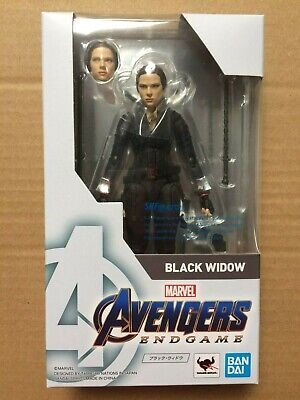 IN STOCK!!  BANDAI S.H.Figuarts Marvel Avengers End Game BLACK WIDOW - US SELLER