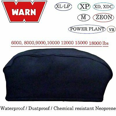 WARN Winch Neoprene Cover 6000 8000 9000 12000 15000 18000lb Water Proof  XL 04