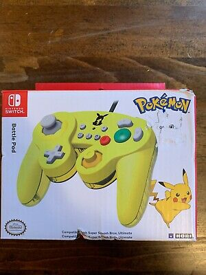 Hori Nintendo Switch Pokemon Pikachu Yellow GameCube Style Controller Tested