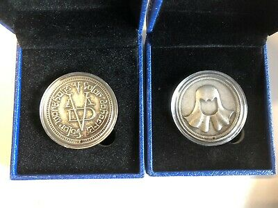 Game Of Thrones Coin/Token 'Faceless Man' In Iron Free Postage