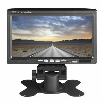 """7"""""""" Screen Full Color Wired Backup Camera TFT LCD Color Monitor Kit For Truck W1"""