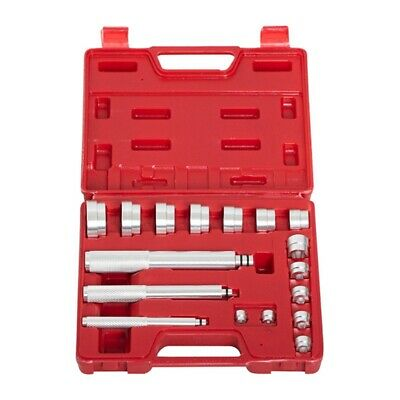 1X(17PCS Bearing Race ; Seal Driver Master Tool Set Aluminum Wheel Axle Set E8L3