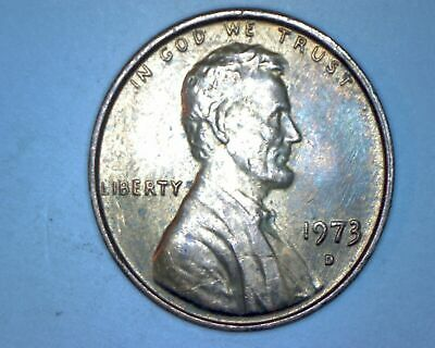 1973 D Lincoln Memorial Cent, Penny - Nice Coin #0303