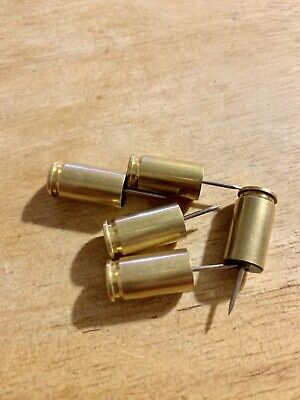25 - 9mm Shell Case Push Pins
