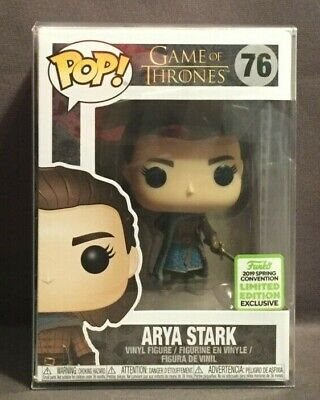 Funko Pop Television 2019 ECCC Exclusive Game of Thrones Arya Stark #76
