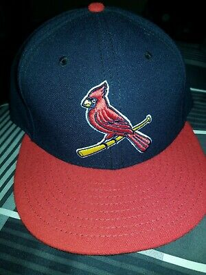 save off 3ae0e f22e1 New Era St. Louis Cardinals ALT 2 59Fifty Fitted Hat (Navy Red)