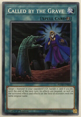 Yu-Gi-Oh! FLOD-EN065 - Called by the Grave - 1st edition - Common