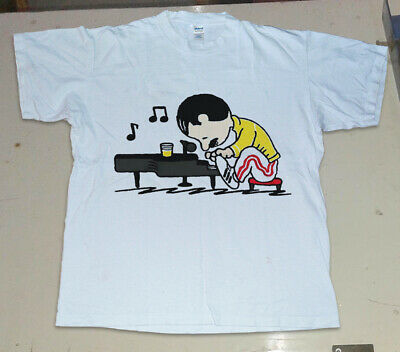Mama Freddie Mercury In The Style Of Peanuts Men T-Shirt Cotton S-6XL