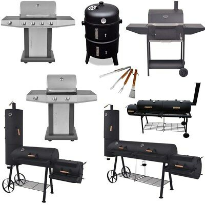 New Outdoor Smoker Charcoal Gas BBQ Grill Portable Garden Barbecue Cooking