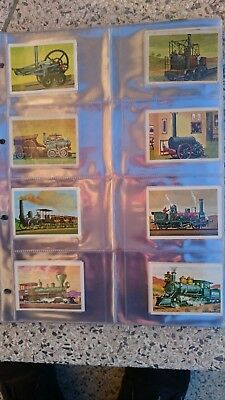 ALBUM 170 TRAIN STICKERS COMPLETE 1970s