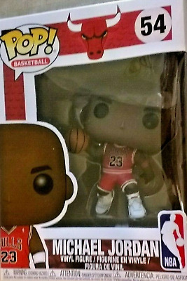 Funko Pop! Basketball Michael Jordan NBA Bulls #54 Vinyl Figure MINT Condition