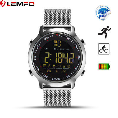 Lemfo EX18 IP67 50m Impermeable Bluetooth Reloj Inteligentes Para Android iPhone
