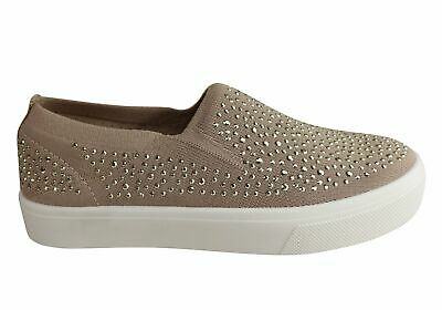 Skechers Womens Poppy Studded Affair Comfort Memory Foam Casual Shoes - SSA