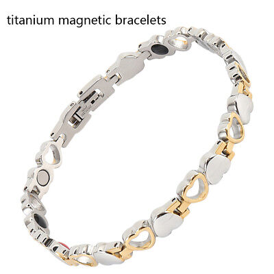 21.5cm Adjustable Magnet Magnetic Therapy Bracelets Arthritis Pain Relief Bangle