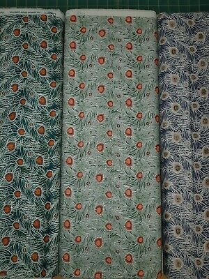 Liberty's Hesketh House Pipers Peacock - Lasenby Quilting Cotton