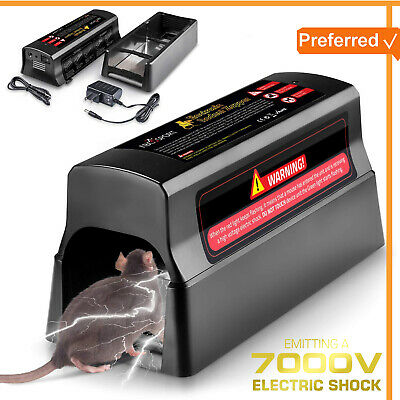 Electric Rodent Zapper Electronic Mouse Trap Victor Control Rat Killer Pest Mice