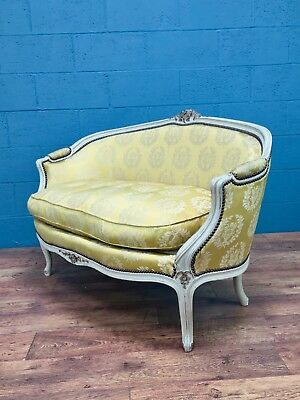 French Louis XV Style Painted Sofa (CB001)