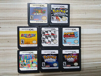 Pokemon Mario 64 DS Platinum Diamond Pearl US Ver For Nintendo 3DS NDSI NDSL NDS